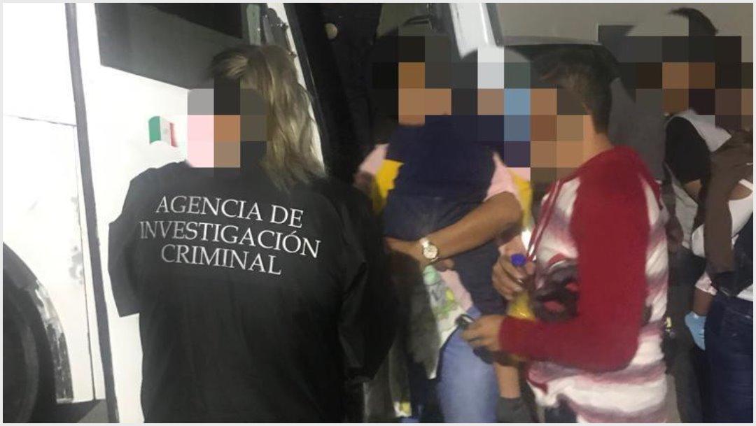 Foto: Más de 300 migrantes fueron rescatados en Tabasco, 14 de septiembre de 2019 (FGR)