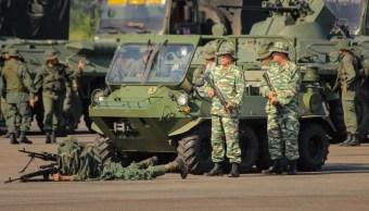 Foto: Los ejercicios militares venezolanos fueron ordenados por Maduro después de que denunció un supuesto plan de agresión de Colombia, 11 de septiembre de 2019 (EFE)