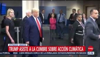 Foto: Mirada Greta Thunberg Trump Cumbre ONU 23 Septiembre 2019