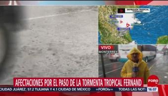 FOTO: Monterrey Espera Depresión Tropical Fernand,
