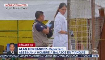 Muere hombre tras ser baleado en tianguis de Iztapalapa
