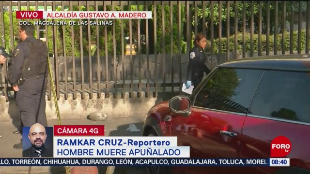 FOTO: Muere joven afuera del hospital Magdalena de las Salinas, 1 septiembre 2019