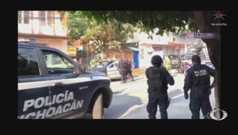 FOTO: Mujer muere atropellada en Uruapan antes del desfile de Independencia, 16 septiembre 2019