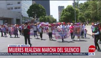 Foto: Mujeres Realizan Cdmx Marcha Del Silencio 9 Septiembre 2019