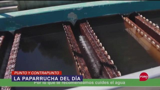 Foto: Niegan Recorte Agua Cdmx Paparrucha Día 26 Septiembre 2019