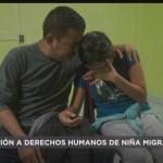 Foto: Niña Migrante Periodo Menstrual Autoridades Niegan Higiene 24 Septiembre 2019