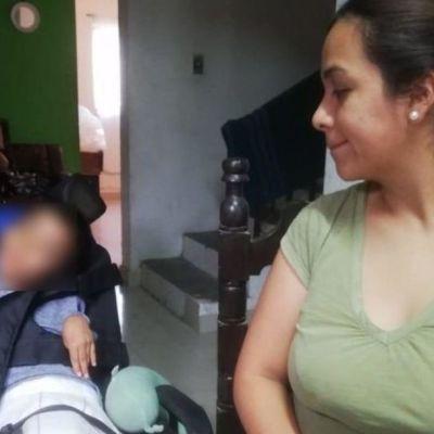 Niño muerde una pila y termina con parálisis cerebral