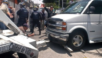 Operativo contra venta de autos robados