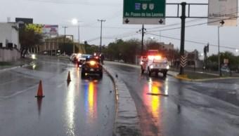 Foto: Lluvias por tormenta Fernand en Nuevo León, 4 de septiembre de 2019