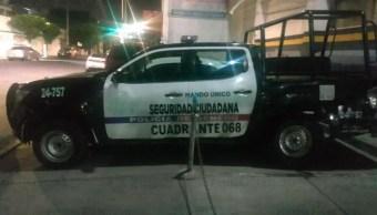 Patrulla del Estado de México.