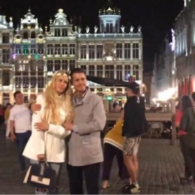 Video: Peña Nieto y Tania Ruiz disfrutan la vida muy enamorados y se toman fotos en Bruselas