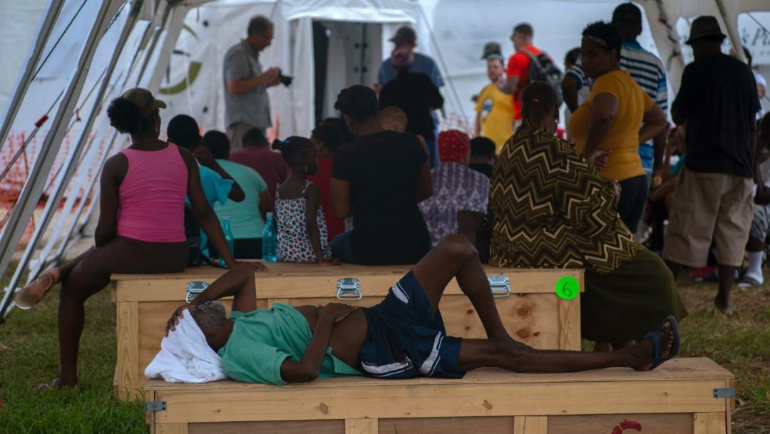 Foto: Personas lesionadas por huracán Dorian, 10 de septiembre de 2019, Bahamas