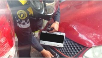 Imagen: Piden verificar origen de placas para discapacitados en CDMX, 22 de septiembre de 2019, (SSC)