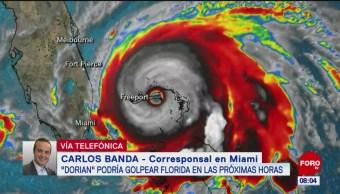 Poderoso huracán 'Dorian' avanza hacia Florida, EU