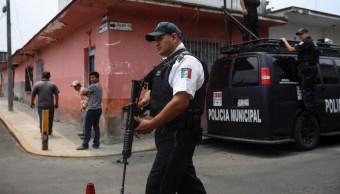 Foto: Policía Municipal, 25 de abril de 2019, Veracruz