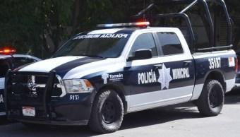 Policía Municipal de Torreón, Coahuila. (Twitter: @luisgdigital, archivo)