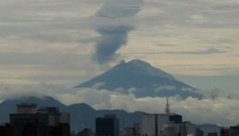 Popocatépetl incrementa su actividad; mantienen alerta en amarillo fase 2