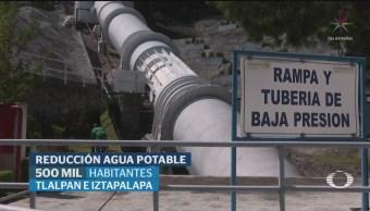 Foto: Conagua Anuncia Corte Suministro Agua Potable CDMX 4 Septiembre 2019