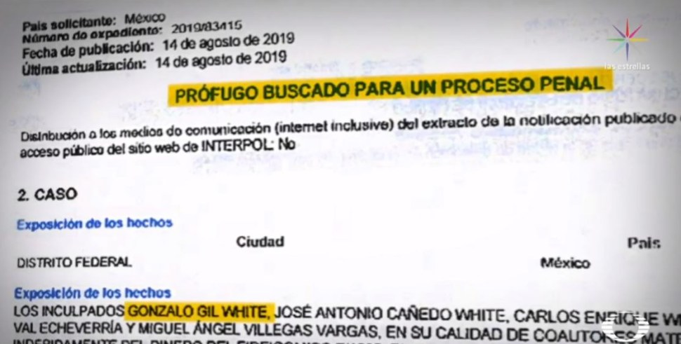 Foto Por qué Interpol busca a Gil White y socios de Oro Negro 4 septiembre 2019