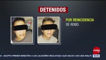 FOTO: Por Tercera Ocasión Detienen Menores Que Robaron Joyería CDMX, 2 de septiembre de 2019