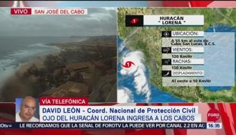 FOTO: Protección Civil Reporta Saldo Blanco Por Lorena Los Cabos