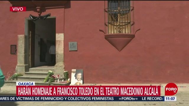Realizarán homenaje al artista Francisco Toledo en Oaxaca