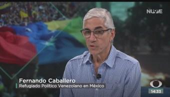 FOTO: Refugiado Habla Sobre Posible Intervención Militar En Venezuela