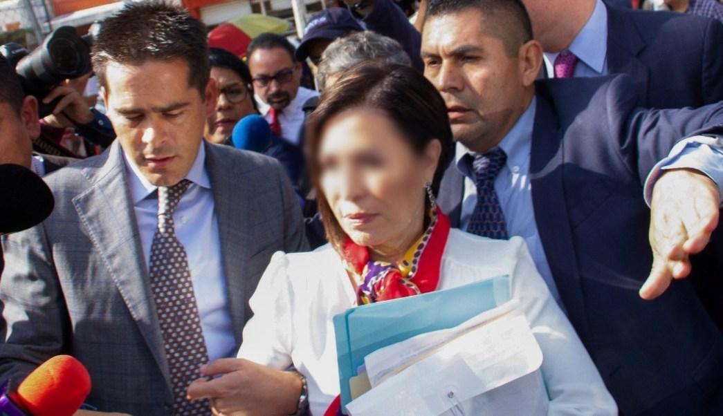 Imagen: Por medio de Twitter se denunció el hackero del teléfono de Rosario Robles, 14 de septiembre de 2019 (EFE)