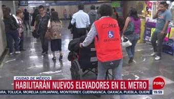 Foto: Sanciones No Respeten Elevadores Exclusivos Metro CDMX 6 Septiembre 2019