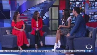 Sandra Echeverría y Andrés Palacios presentan 'La Usurpadora'