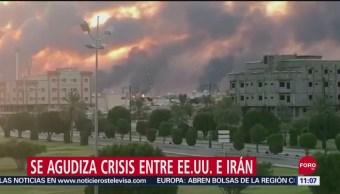 Se agudiza crisis entre Estados Unidos e Irán