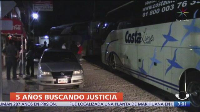 Se cumplen cinco años de la desaparición de 43 jóvenes en Ayotzinapa