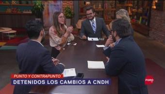 Foto: Freno Cambio Cndh Defensoría Pueblo 18 Septiembre 2019