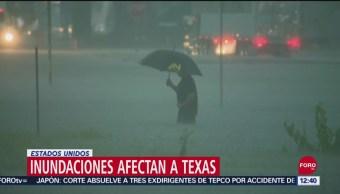 Se registran inundaciones repentinas en Texas por la tormenta 'Imelda'