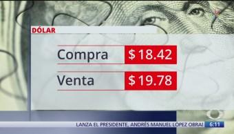 FOTO: Se vende el dólar en 19.78 pesos, 16 septiembre 2019