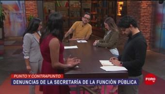 Foto: Sfp Presenta 33 Denuncias Gobierno AMLO 3 Septiembre 2019