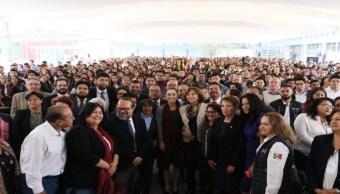 Foto Sheinbaum da bienvenida a 1a generación Rosario Castellanos 9 septiembre 2019