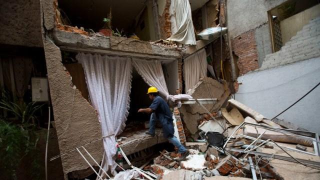 Foto: Daños por sismo en México, 18 de octubre de 2017, Ciudad de México