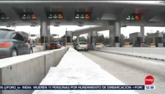 Sube 3.1% el peaje en autopista México-Acapulco