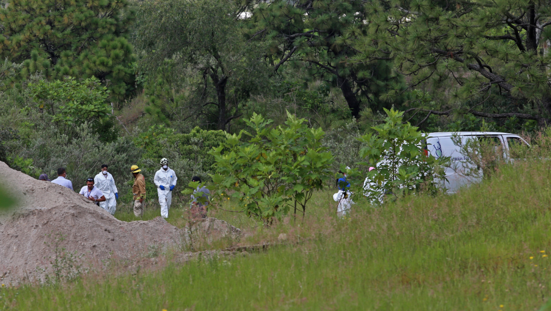 Foto: El pasado 3 de septiembre, se localizó la fosa en un predio particular en el cruce de las privadas Las tortugas y La florida, en el municipio de Zapopan, 11 de septiembre de 2019 (Fernando Carranza García / Cuartoscuro.com)