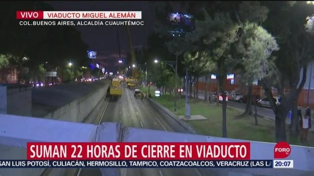 Foto: Viaducto Suman 22 horas cierre vial 21 Septiembre 2019