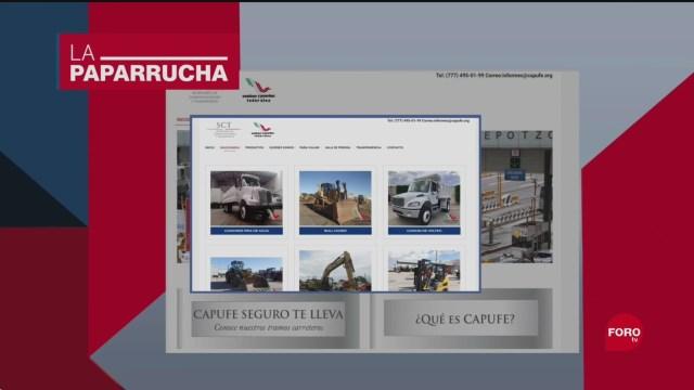 Foto: Venta Camiones Excavadoras Noticias Falsas 10 Septiembre 2019