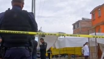 Foto: Asesinan a comerciante en Iztapalapa. (Noticieros Televisa)