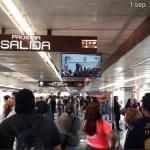 Fotos: Usuarios del servicio de transporte público se han manifestado en las redes sociales por esta decisión, 1 de septiembre de 2019 (Twitter @ISATVMEX)