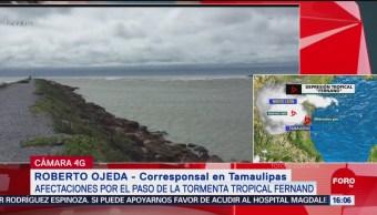 FOTO: Tras Paso Fernand No Hay Afectaciones Tamaulipas,