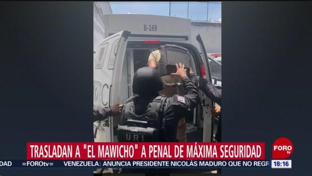 FOTO: Trasladan a penal de máxima seguridad a presunto homicida de israelíes de Plaza Artz, 8 septiembre 2019