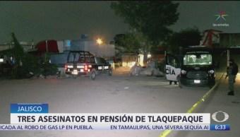 Tres asesinatos en pensión de Tlaquepaque, Jalisco