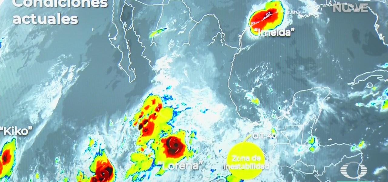FOTO: Tres Fenómenos Meteorológicos Se Acercan Costas Mexicanas