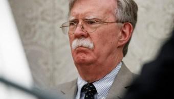 FOTO Trump despide a John Bolton, asesor de Seguridad Nacional (AP, archivo)