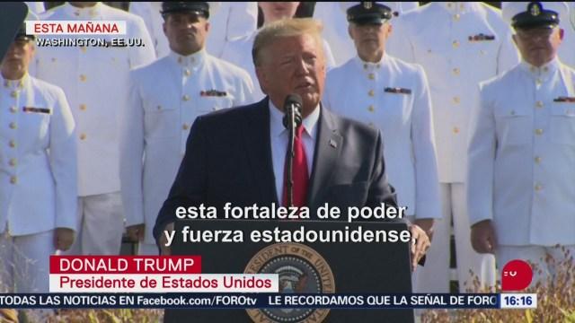 FOTO: Trump Promete Golpear Talibanes Aniversario 11-S